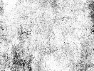 Scratched grunge texture. Concrete texture overlay. Distressed texture. Black and white colored grunge background.  Abstract background. Vector illustration