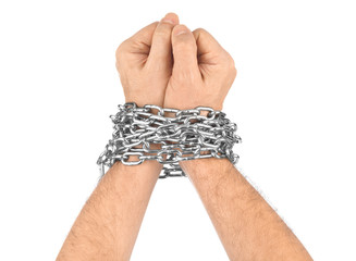 Hands and chain