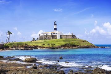 Barra lighthouse in Salvador da Bahia, Brazil.