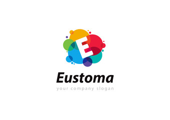 letter E logo Template for your company