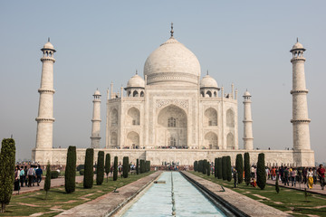 Classic Beauty of Taj Mahal