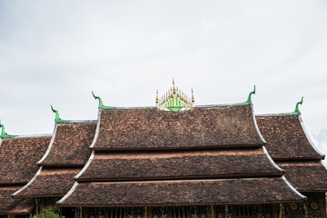 Roof of Wat Xieng Thong