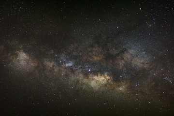 Core of Milky Way. Galactic center of the milky way, Long exposu
