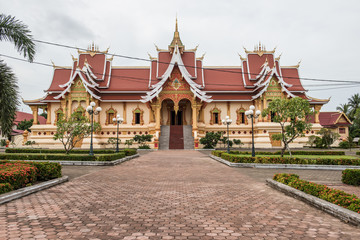 Pha That Luang in Vientiane