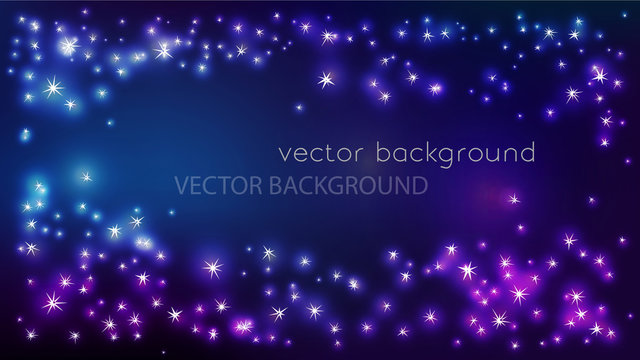 vector constellation frame in space