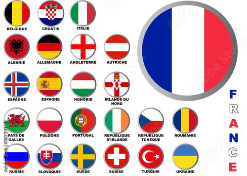 foot euro 2016 drapeau pays stock image and royalty free vector files on fotoliacom pic 109154410