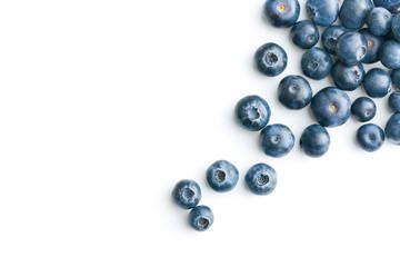 Tasty blueberries fruit.