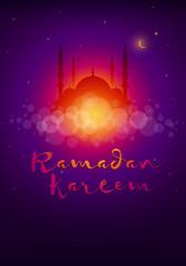 Ramadan Kareem poster design