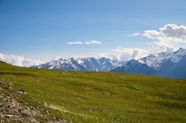 Col de la Salcette et Ecrins (Hautes-Alpes)
