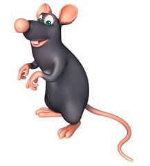 funny Rat cartoon character