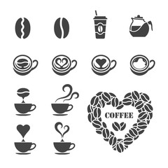 love coffee icon