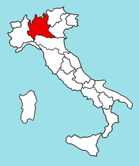 Cartina Italia Politica Lombardia.Search Photos Cartina Geografica