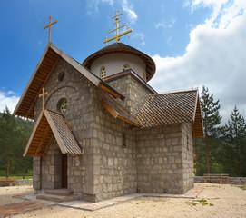 Orthodox Chapel in Montenegro