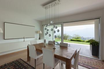 Interiors, dining room