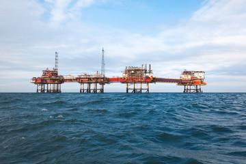 Oil platform in China