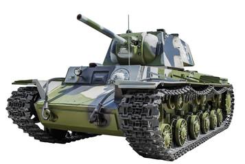 Soviet tank KV - 1
