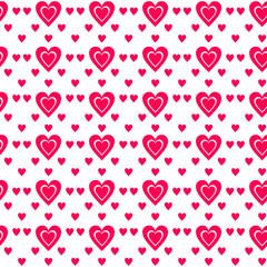 Valentine day seamless pattern. illustration