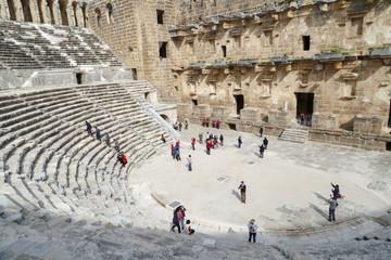 Aspendos Amphitheater View