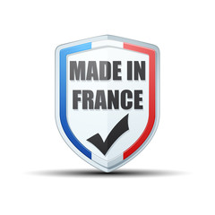 Made in France shield sign