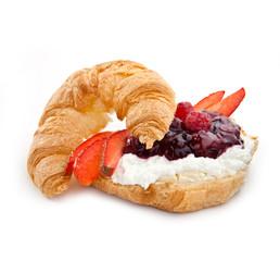 Obraz croissant - fototapety do salonu