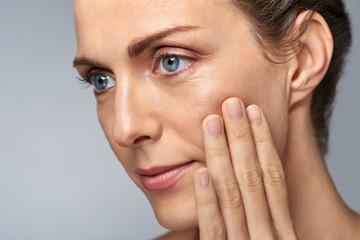skin care concept in studio
