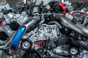 The car engine