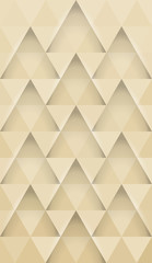 Abstract triangles horizontal pattern background for mobile