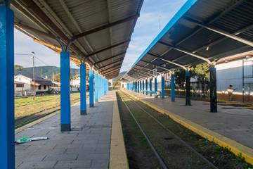 Railway station  in Salta, Argentina.