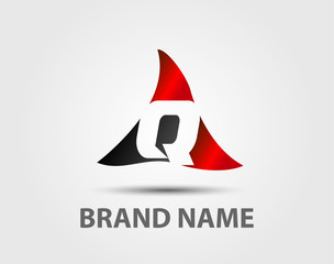 Q company vector logo and symbol Design
