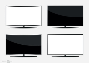 Set of  TV Screen