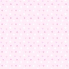 ランダム星柄シームレスパターン ピンク系