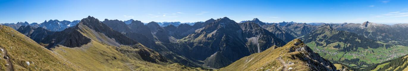 Allgäuer Bergpanorama