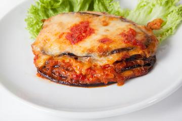Baked eggplant, Parmigiana