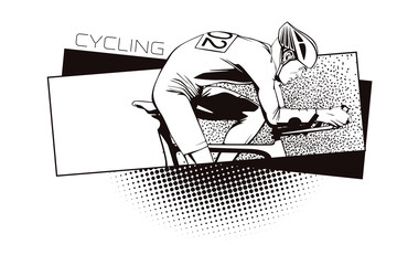 Summer kinds of sports. Cycling