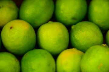 macro detail of limes
