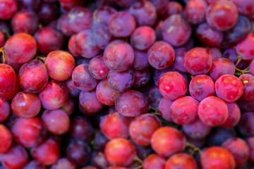 macro detail of grape