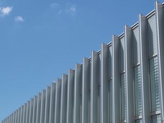 青空 雲 建物