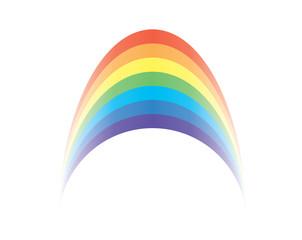 vector rainbow clip art