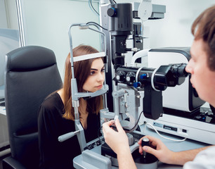 Consultation with an ophthalmologist