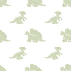 Dinosaurs seamless background