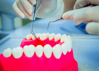 Dentures and medical equipment