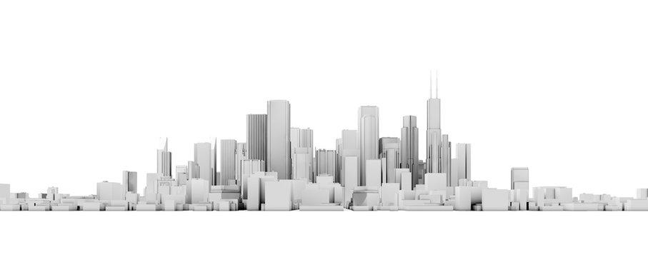 3d skyline
