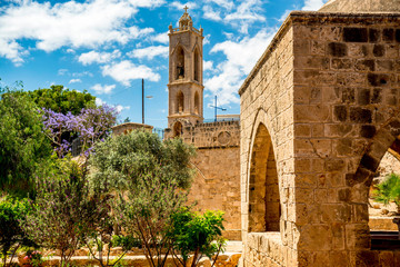 Deurstickers Cyprus Ayia Napa monastery, best known landmark of the area. Cyprus