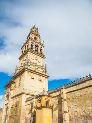 Tower bell of the famous Mosque of Cordoba, in Andalusia - Spain