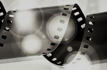 film strip grunge background, texture