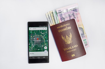Smartphone &thailand passport to travel