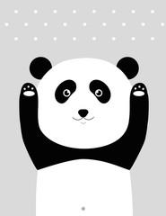 Fototapeta premium Jestem pandą.