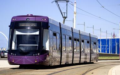Tram in Blackpool
