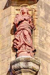 Skulptur aus Stein in Aschaffenburg