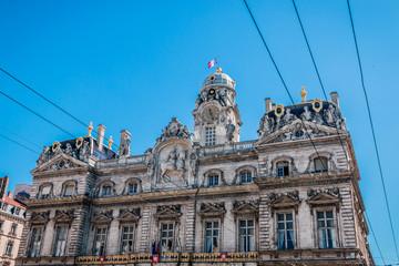 Hôtel de Ville de Lyon, place des Terreaux
